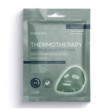BeautyPro Thermotherapy Warming Silver Foil Face Mask 25ml