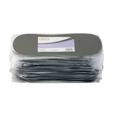 DEO Disposable Sticky Feet Black 25pack