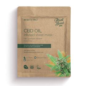 Beauty Pro Natura CBD Oil Infused Sheet Mask 22ml