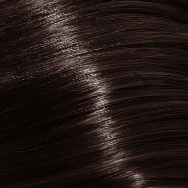Silky Coloration Permanent Hair Colour - 4.45 Copper Mahogany Brown 100ml