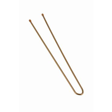 Salon Services Heavy Plain Pin Brown Pack of 500