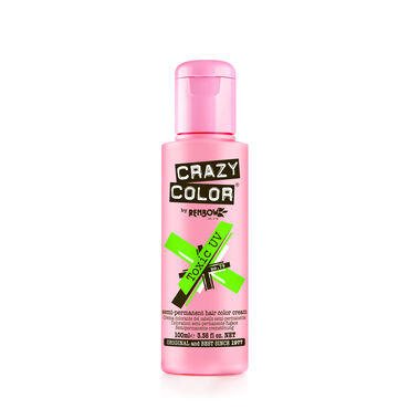 Crazy Color  Toxic UV Semi  Permanent Hair Color Cream  Toxic UV 100ml