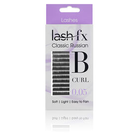 Lash FX Classic Russian Lashes B Curl 0.05 - 10mm