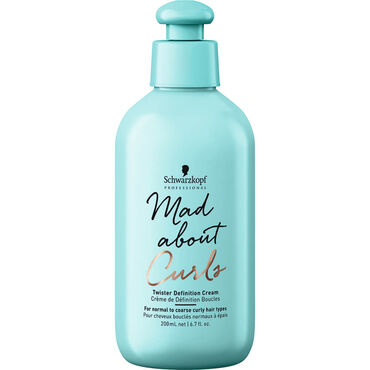 Schwarzkopf Professional Mad About Curls Twister Definition Cream, 200ml