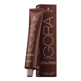 Schwarzkopf Professional Igora Color 10 Permanent Hair Colour - 8-00 Light Blonde Natural Extra 60ml