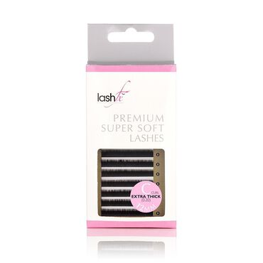 Lash FX C Curl Extra Thick Mink Lash 12mm