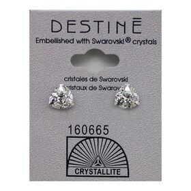 Crystallite Trilliant Stud Earrings