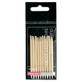 Salon Services Dual Ended Birchwood Stick Pack of 10
