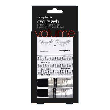 Naturalash Salon System Student Combi Kit Black
