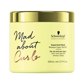 Schwarzkopf Professional Mad About Curls Superfood Mask, 650ml