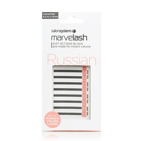 Marvelash 0.07 3D Fans Assorted Lashes