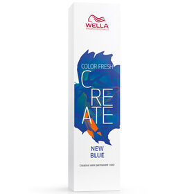 Wella Professionals Color Fresh Create Semi Permanent Hair Colour - True Blue 60ml
