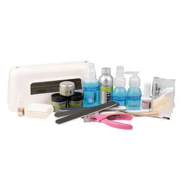The Edge Nails UV Gel Kit With Lamp