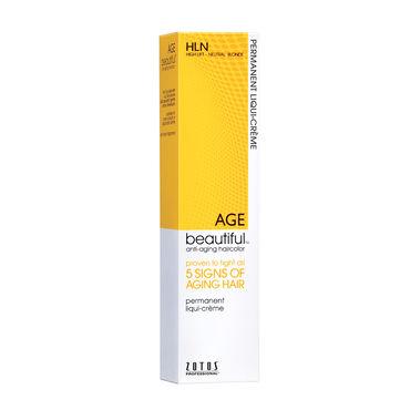 AGEbeautiful Permanent Hair Colour - HLN High Lift Neutral Blonde 60ml
