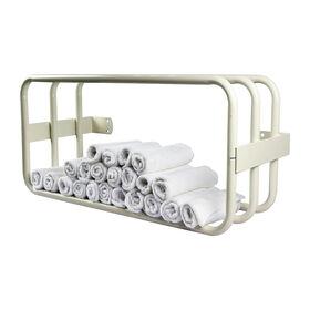 Salon Services Towel Rack White