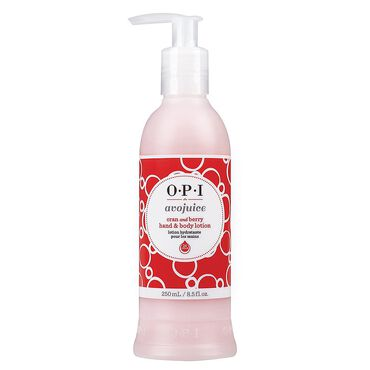 OPI Avojuice Hand and Body Lotion - Cran & Berry 250ml