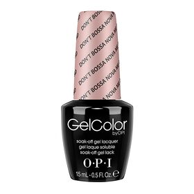 OPI GelColor Gel Polish - Don't Bossa Nova Me Around 15ml
