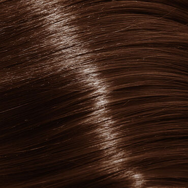 Wildest Dreams Clip In Half Head Human Hair Extension 18 Inch - 6 Sunkissed Brown