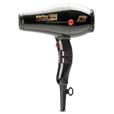 Parlux 385 Power Light Ceramic Ionic Hair Dryer - Black