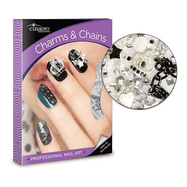 Cina Charms and Chains Nail Art Kit