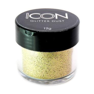 Icon Nail Glitter Dust Platinum 12g