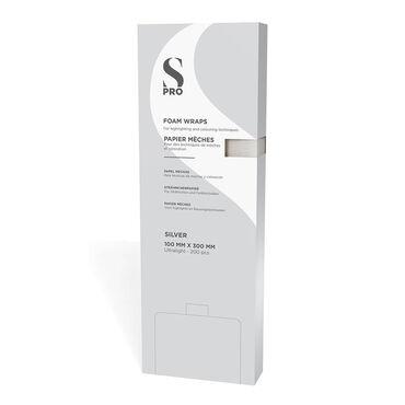 S-PRO Silver Foam Wraps, Pack of 200