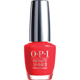 OPI Infinite Shine Easy Apply & Long-Lasting Gel Effect Nail Lacquer - Unrepentantly red 15ml