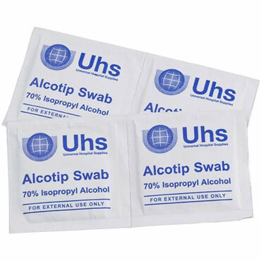 Uhs Pre-Injection Swabs Pack of 100