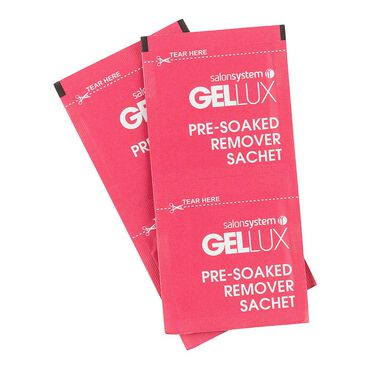 * Gellux Pre-Soaked Remover Sachets 200pk
