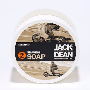 Jack Dean Professional Shaving System Step Two - Shaving Soap 200g