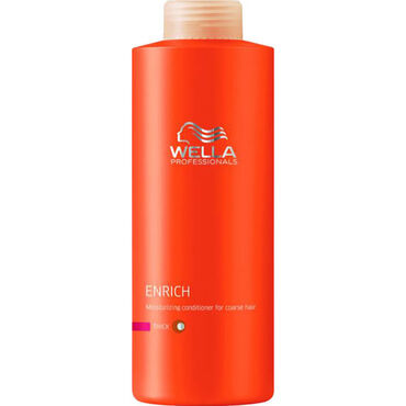 Wella Professionals Enrich Moisturising Conditioner for Thick Damaged Hair 1L