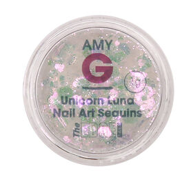 Amy G Nail Art Collection Unicorn Collection Luna Sequins 1g