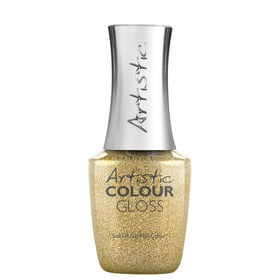 Artistic Disco Nights Festive Lights Collection Colour Gloss Gel Polish - Yank My Gold Chain 15ml