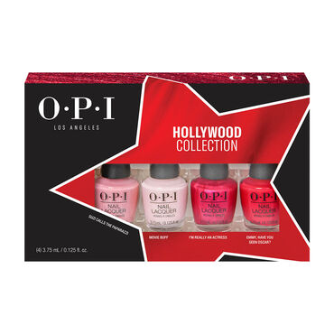 OPI Hollywood Collection Nail Lacquer Mini Pack, 4 x 3.75ml