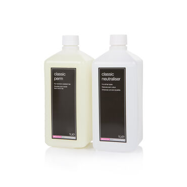 Salon Services Freestyle  Hair Perm & Freestyle Fix Neutraliser Twin Pack 1L + 1L