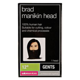 Salon Services Manikin Head with Beard