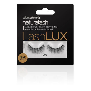 Salon System Naturalash Lashlux Strip Lash Mink Style 005