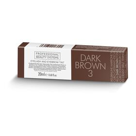 Professional Beauty Systems Eyelash and Eyebrow Tint - Dark Brown