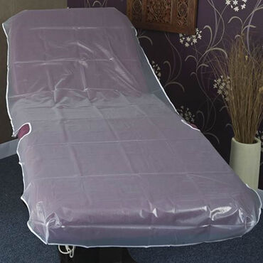Beauty Express Heavy Duty PVC Clear Waxing Couch Cover