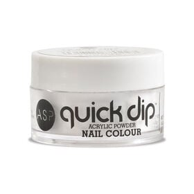 ASP Quick Dip Acrylic Dipping Powder Nail Colour - Clear as Belle 14.2g