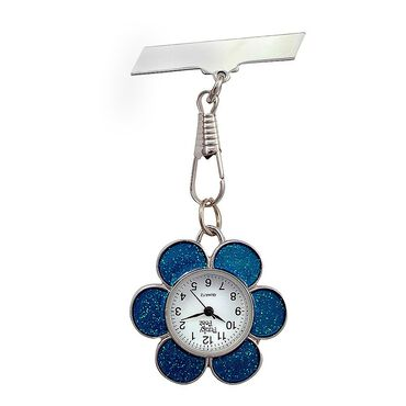 Funky Fobz Fob Watch Blue Flower