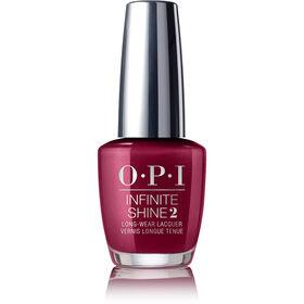 OPI Infinite Shine Easy Apply & Long-Lasting Gel Effect Nail Lacquer - Bogota Blackberry 15ml