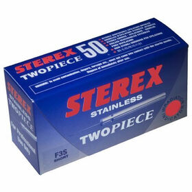 Sterex Electrolysis Ss Size .006 2 Piece Needle