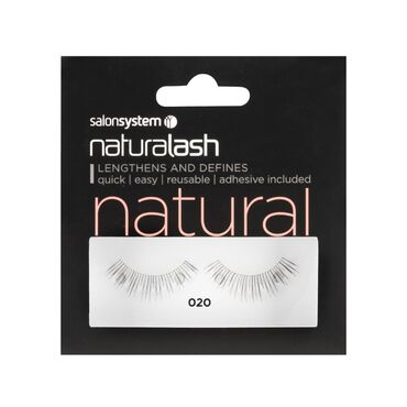 Salon System Naturalash Strip Lashes Natural 020