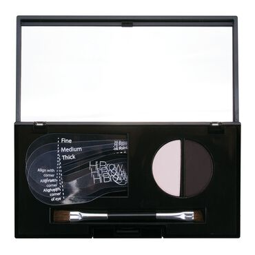 Hi Brow 24hr Brow Powder Compact Dark Charcoal