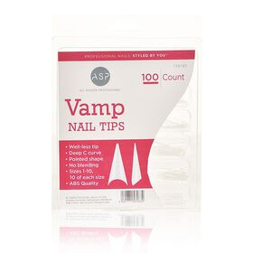 ASP Vamp Nail Tips 100 Pack