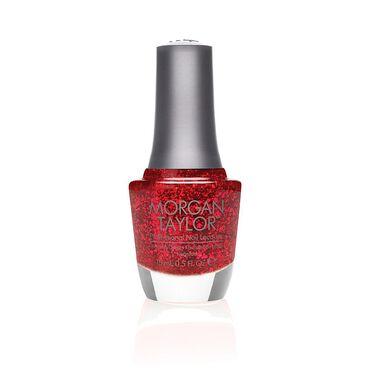 Morgan Taylor Long-lasting, DBP Free Nail Lacquer - Rare As Rubies 15ml