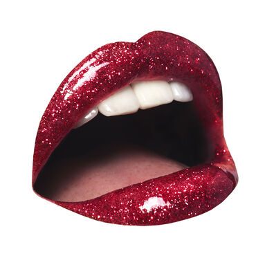 INC.redible Glittergasm Glitter Lip Topper Red Hot Ready 3ml