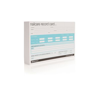 Salon Services Nail Care Appointment Card 50 Pack