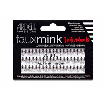 Ardell Faux Mink Individual Lashes, Medium
